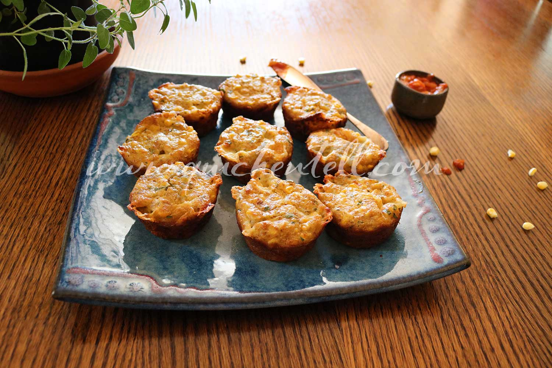 Fresh Corn And Cheddar Muffins / easy Muffins